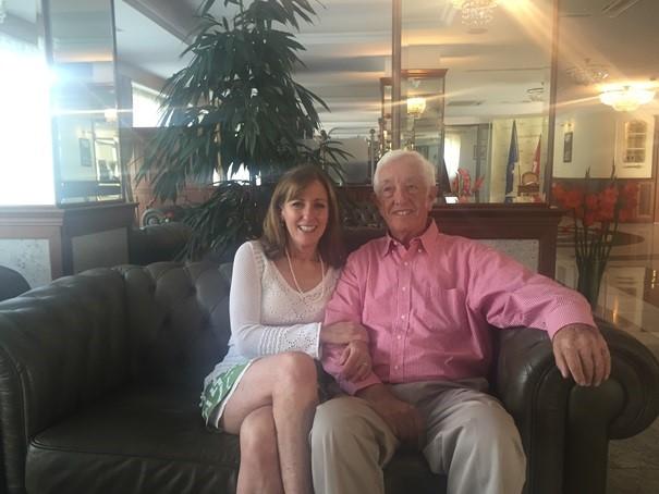 Murray Goldfinger in Hotel Prezydent