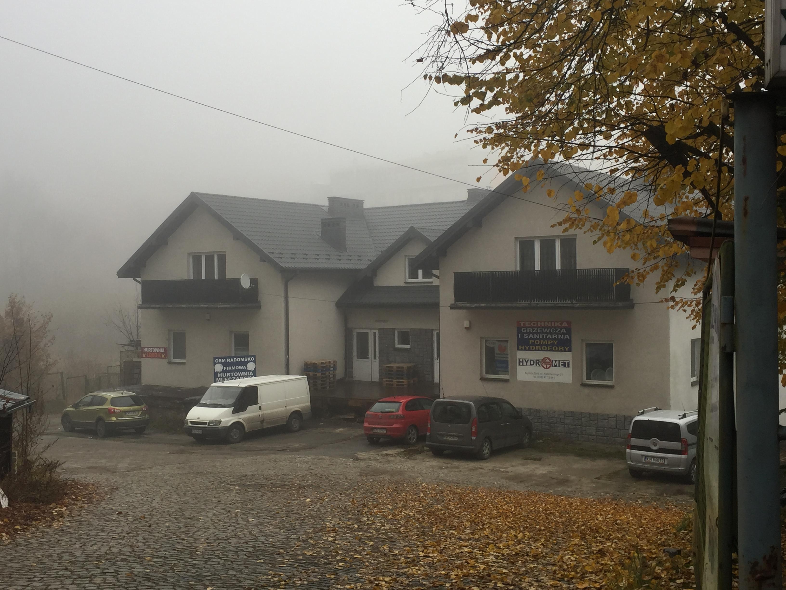 Dawniej miejsce Mykwy w Krynicy-Zdroju